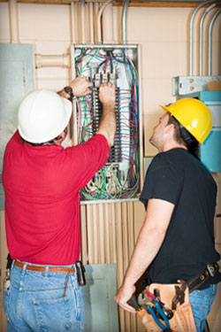 Cal-Tech Electric has a team of journeymen electricians working to meet your electrical wiring needs