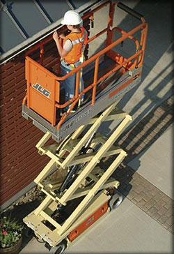 JLG Scissor Lift available as a rental